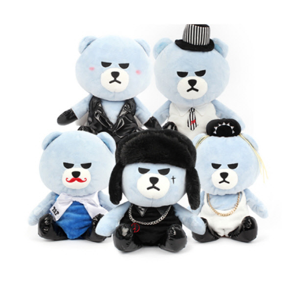 [BIGBANG] BIGBANG X KRUNK plush toy a ver2 Koreapopstore.com