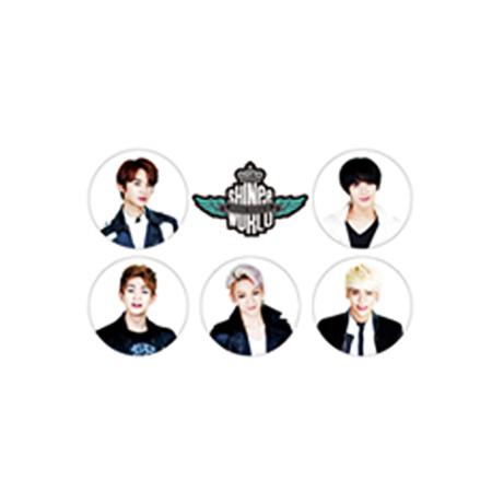 [SHINEE] Shinee World III 2014 Pin Badge Set Koreapopstore.com